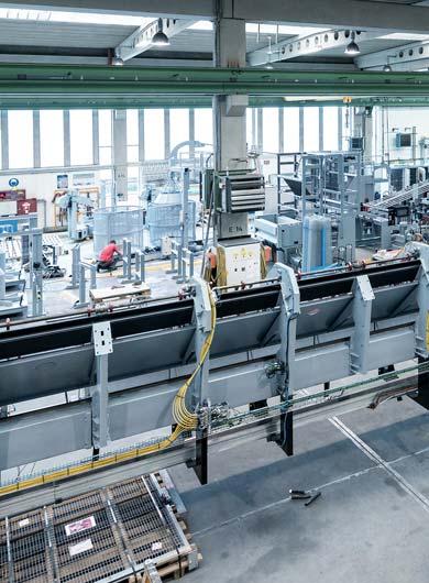 EVG Produktionshalle