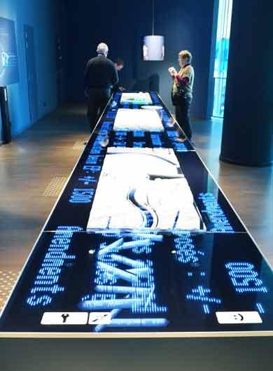 Multimediatisch mit RFID Technologie von primtec
